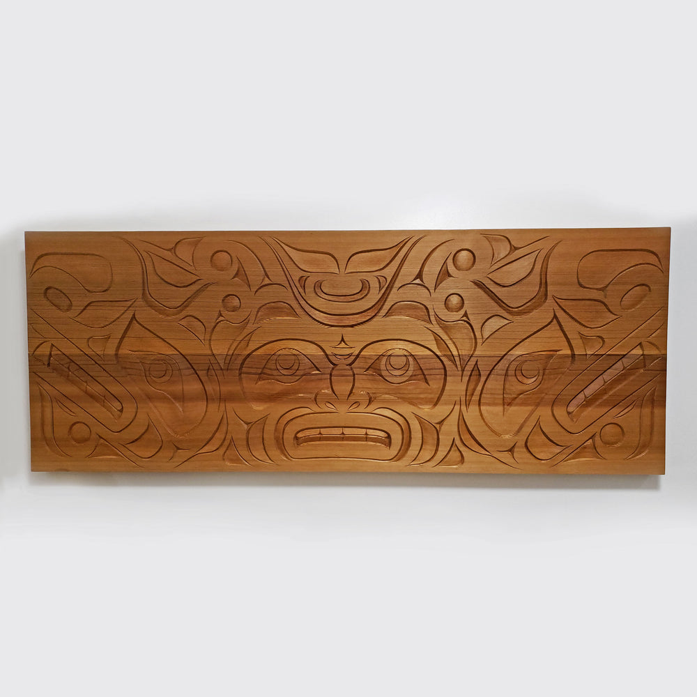 Sea Serpent Cedar Panel