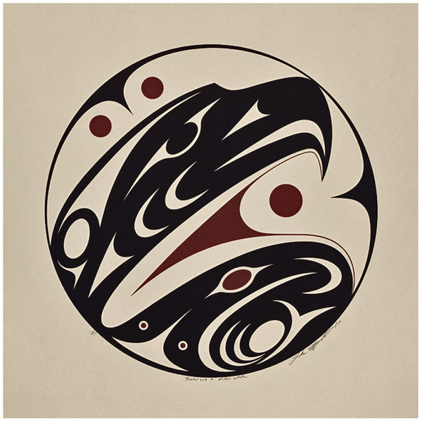 The Thunderbird Symbol Native Art