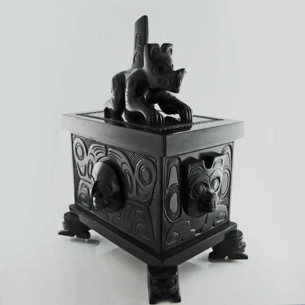 Wasco / Sea Wolf Story Argillite Box