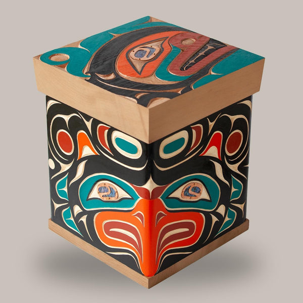 Thunderbird and Orca Bentwood Box. All images © 2021 Zac Whyte.