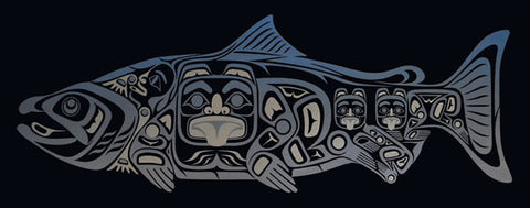 Chíin Sgáanuwaay ~ Supernatural Salmon 3 by April White