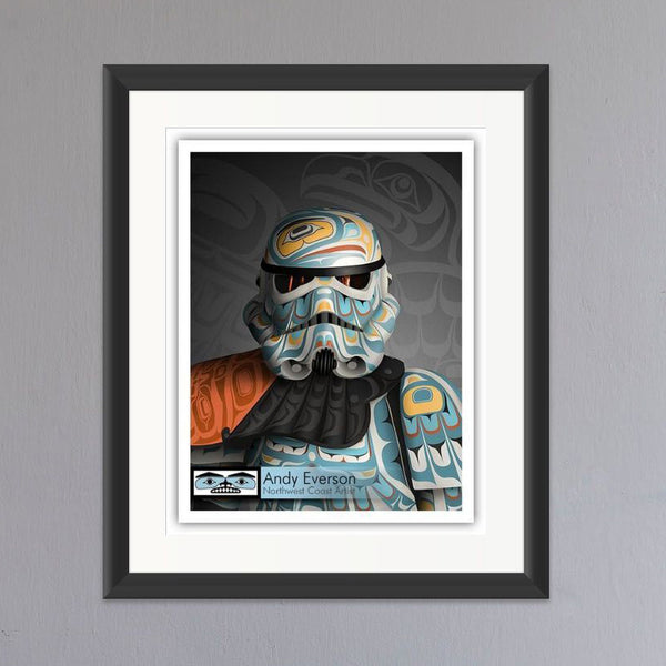 Tenacity Limited Edition Print by Andy Everson