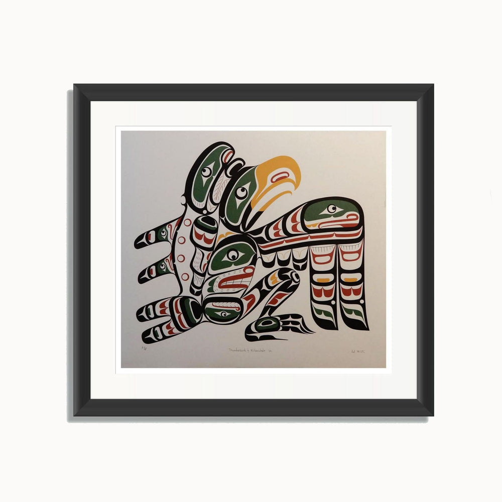 Thunderbird and Killerwhale Artist Proof Edition Print