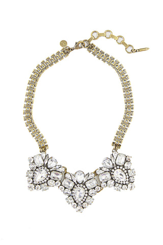 Lucile Necklace in Crystal
