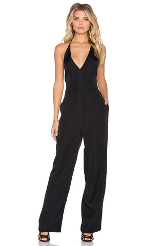 Take Care Backless Jumpsuit