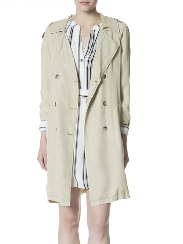 Jane in Paris Trench