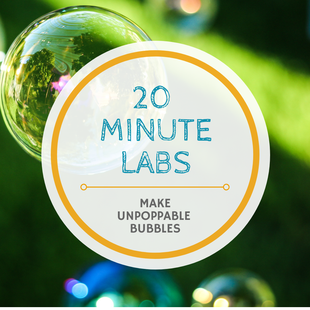 20 Minute Labs bubble logo | Yellow Scope