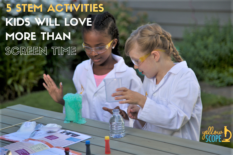 yellow scope blog | stem summer activities