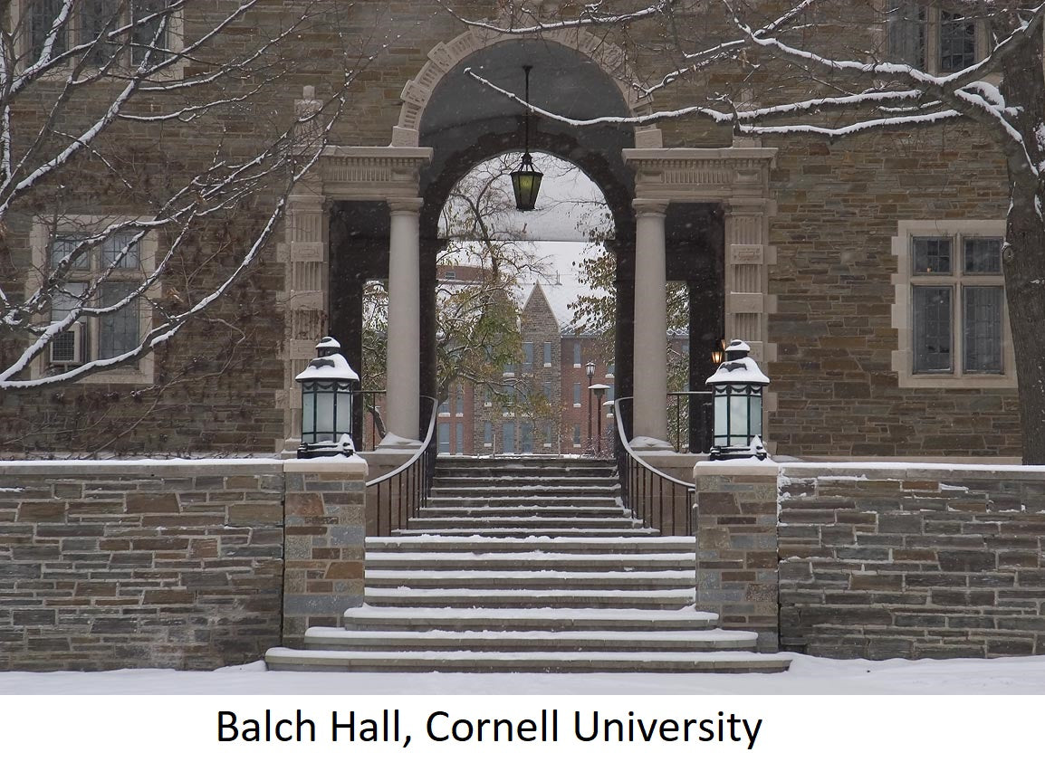 cornell balch hall | Yellow Scope blog