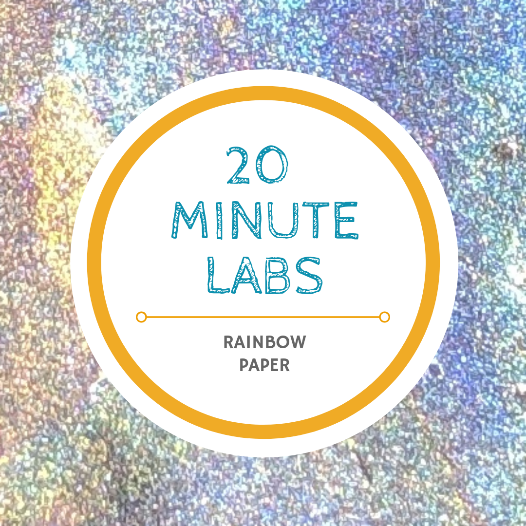 20 Minute Labs rainbow logo | Yellow Scope