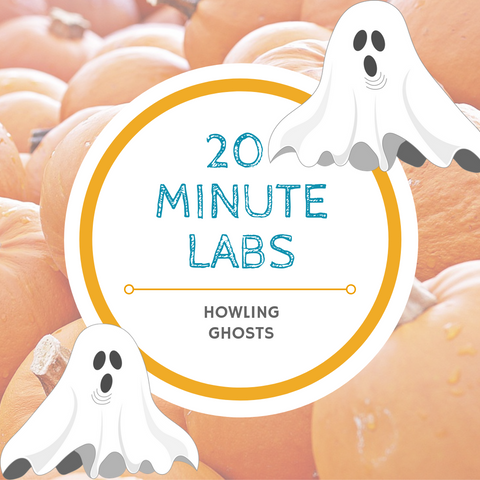 20 Minute Labs ghosts logo | Yellow Scope