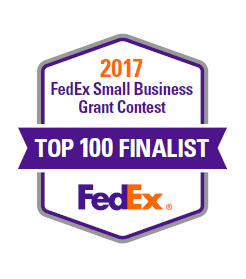 we re finalists for the fedex small business grant yellow scope