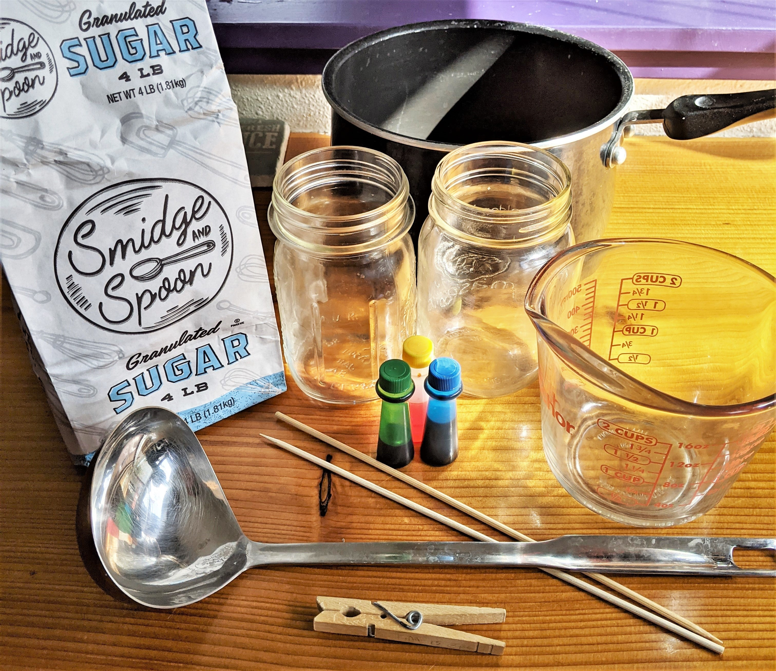 rock candy supplies | Yellow Scope