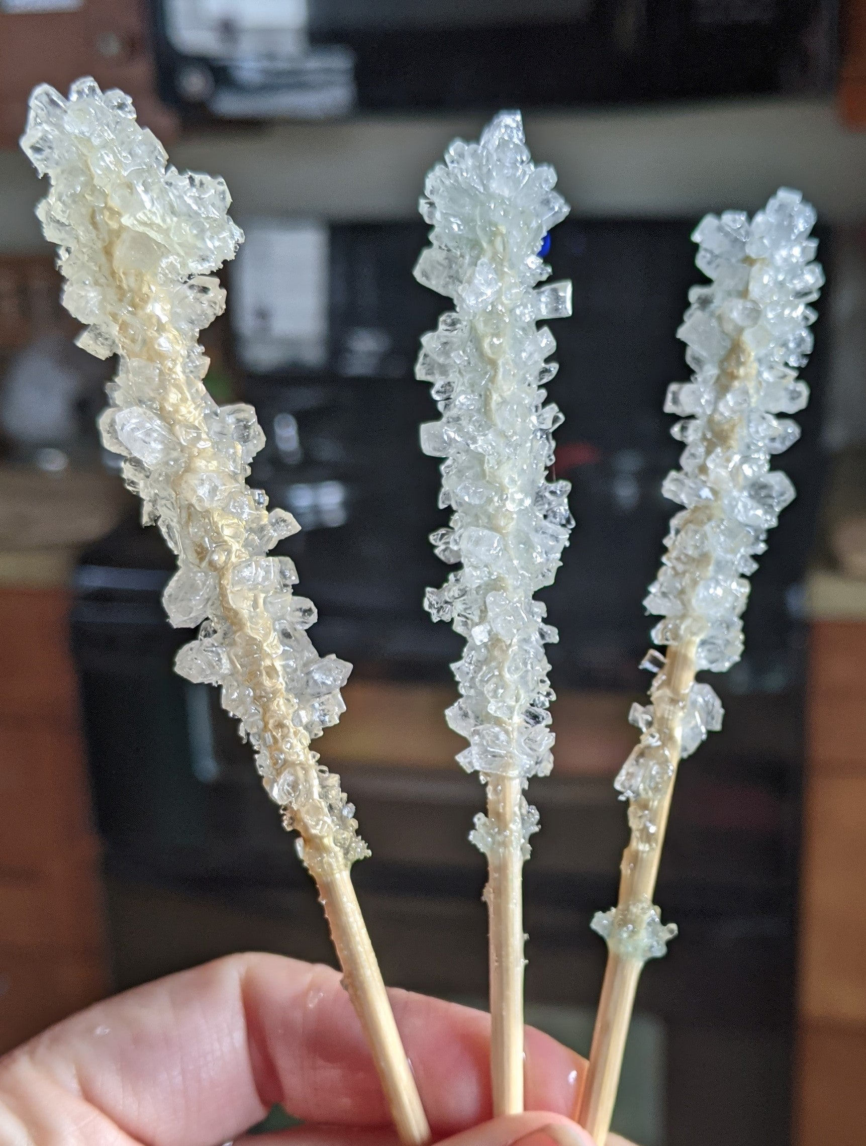 white rock candy crystals | Yellow Scope
