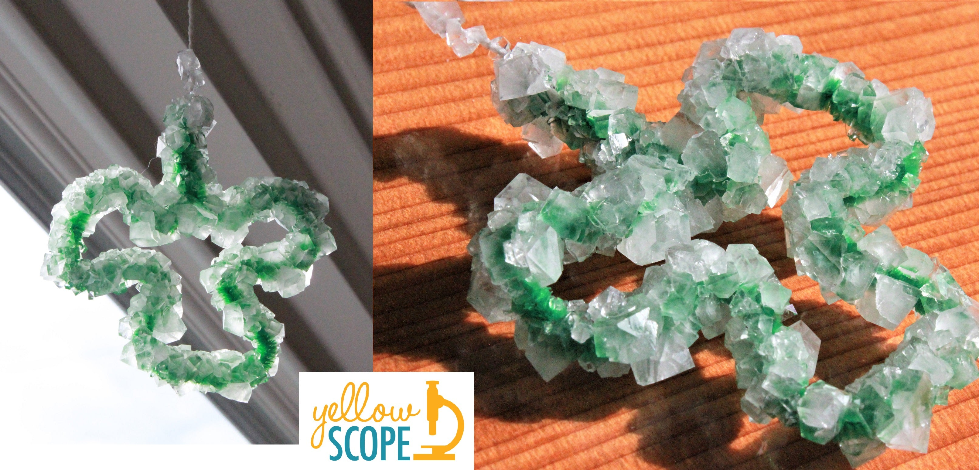 shamrock crystal | Yellow Scope blog