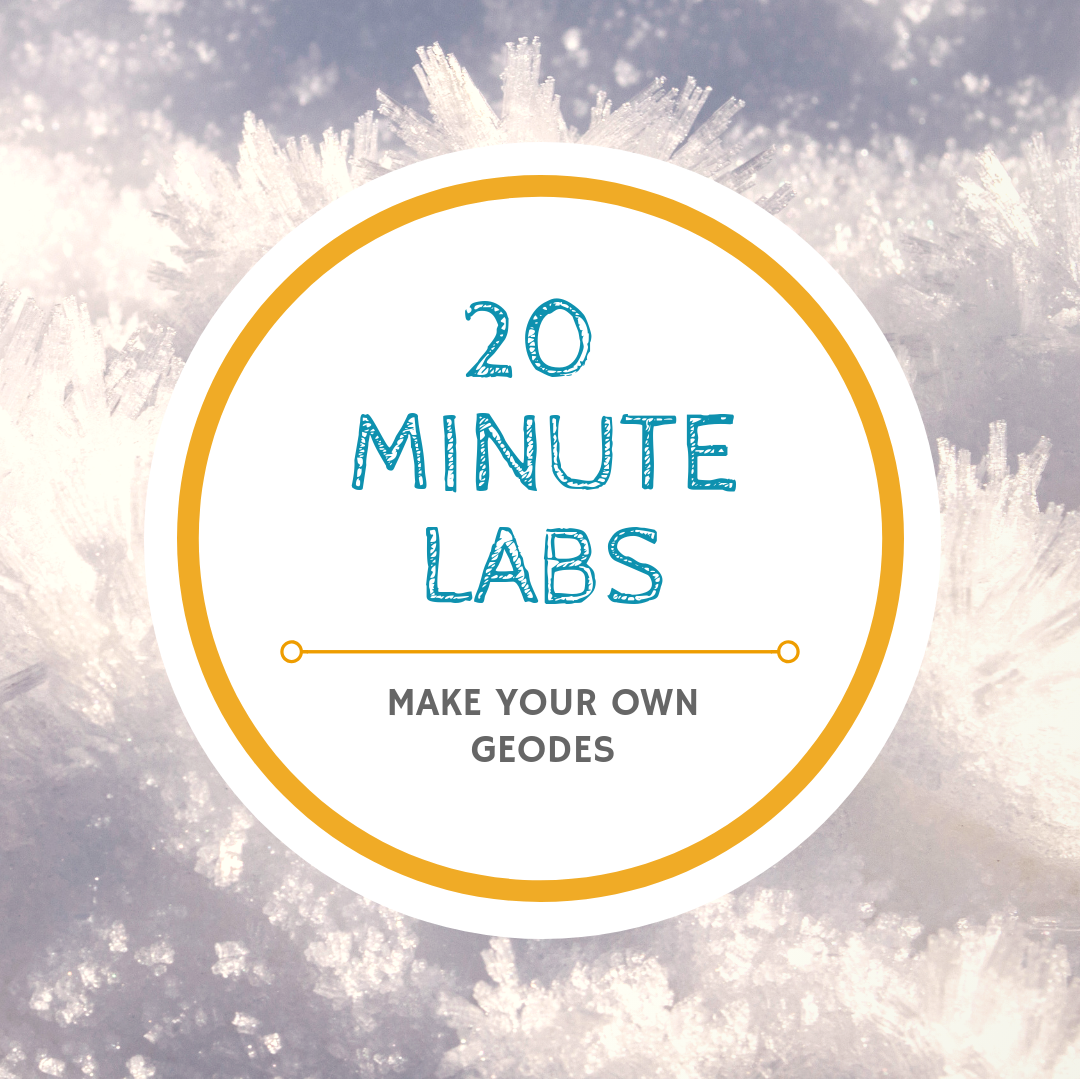 20 Minute Labs geodes logo | Yellow Scope
