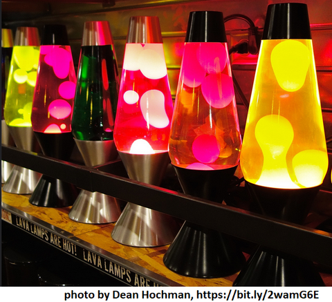 lava lamps | Yellow Scope blog