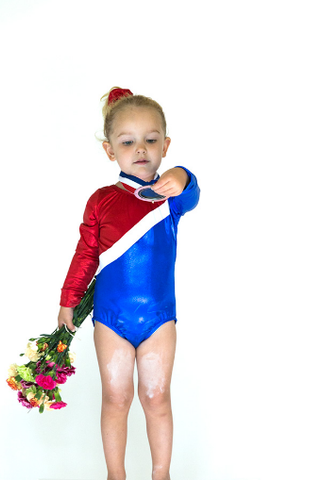 Yellow Scope Empowering Halloween Costume for Girls | Olympic gymnast