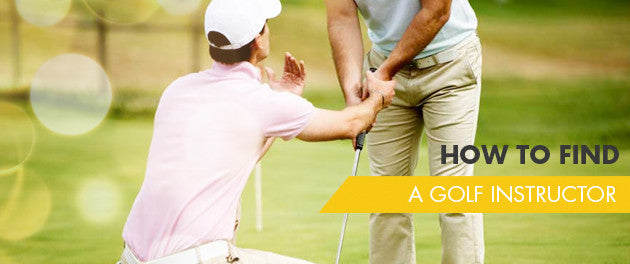 How To Find A Golf Instructor