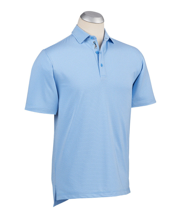 BOBBY JONES XH2O JACQUARD PERFORMANCE POLO - Miami Golf