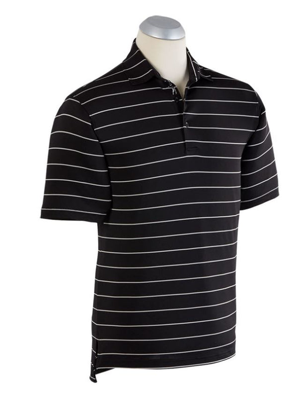 BOBBY JONES XH2O MOMENTUM STRIPE SHORT SLEEVE POLO - Miami Golf