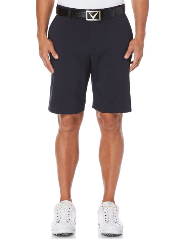 CALLAWAY MEN'S STRETCH SHORT WITH ACTIVE WAISTBAND (Caviar) - Miami Golf