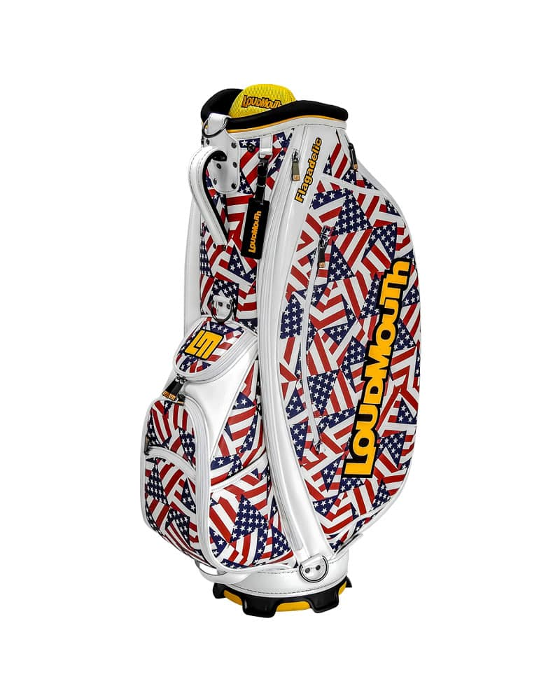 LOUDBAGS FLAGADELIC 9 INCH STAFF GOLF BAG - Miami Golf