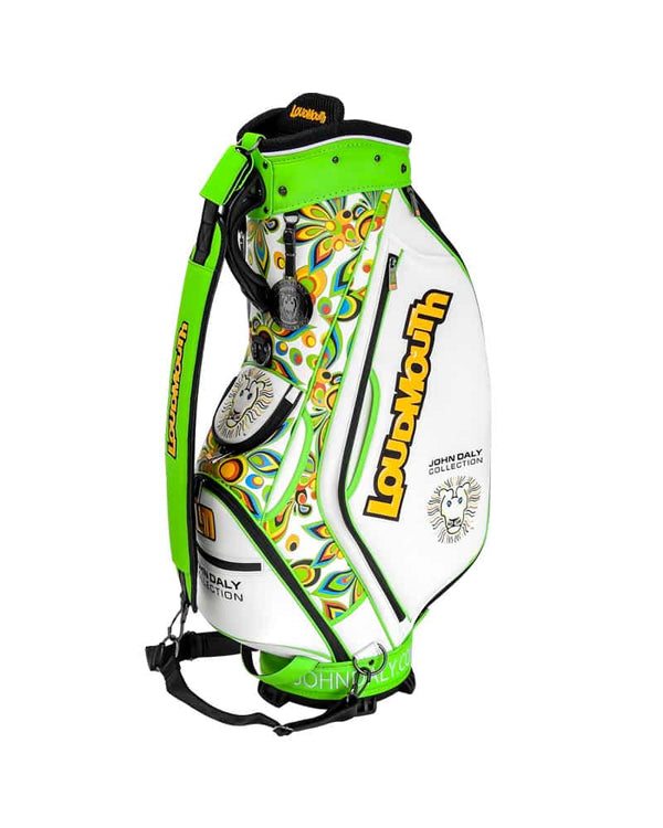 LOUDBAGS JOHN DALY COLLECTION 9 INCH STAFF BAG - Miami Golf