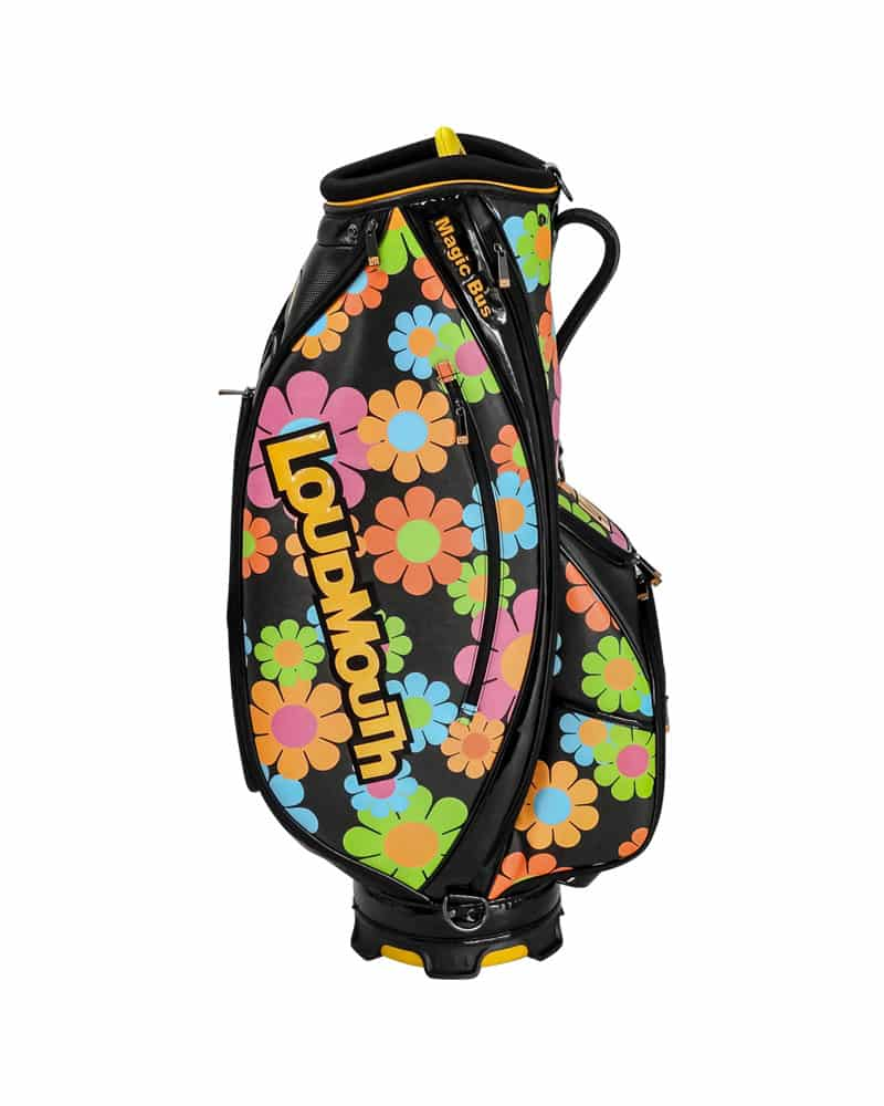 LOUDBAGS MAGIC BUS 9 INCH STAFF GOLF BAG - Miami Golf