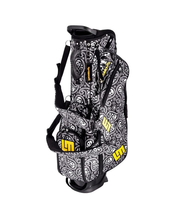 LOUDBAGS SHIVER ME TIMBER 8.5 INCH DOUBLE STRAP STAND BAG - Miami Golf