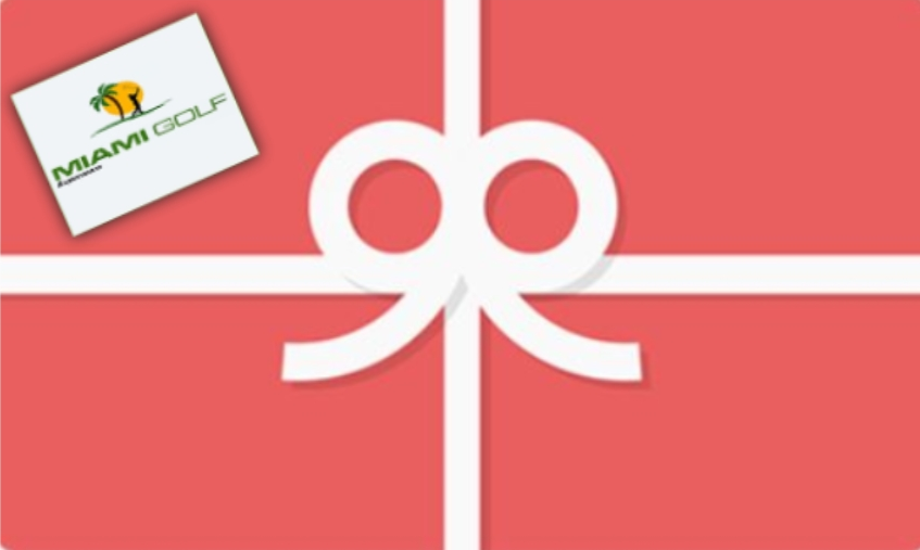 Gift Card - Miami Golf