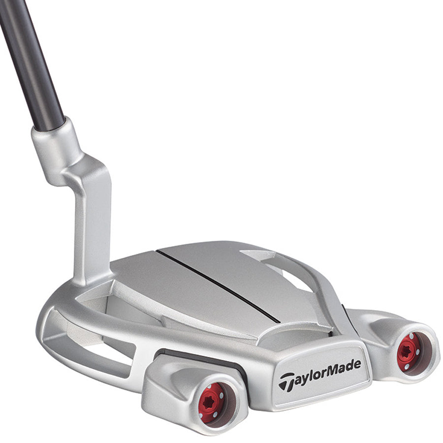 "TAYLORMADE SPIDER TOUR DIAMOND SILVER ""L"" NECK PUTTER"