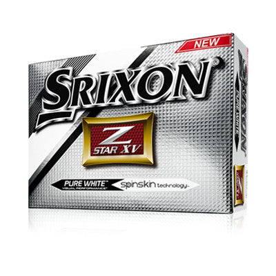SRIXON Z-STAR XV PURE WHITE GOLF BALLS