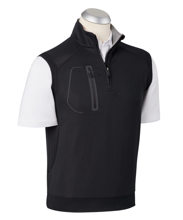 BOBBY JONES XH2O CRAWFORD VEST (BLACK) - Miami Golf