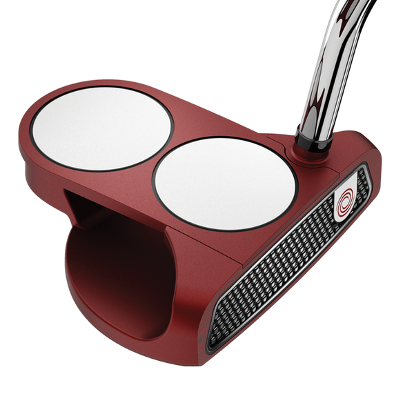 ODYSSEY O-WORKS RED 2-BALL PUTTER - Miami Golf