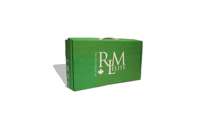Top Fishing Tackle Subscription Box. RLM Elite