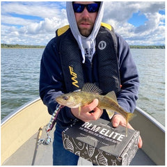 Walleye Fishing in sunny conditions