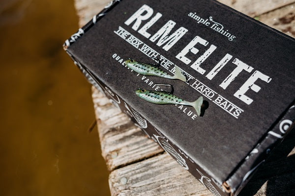 Nice Swimbait from RLM Elite Walleye Subscription Trial Series Tackle Box