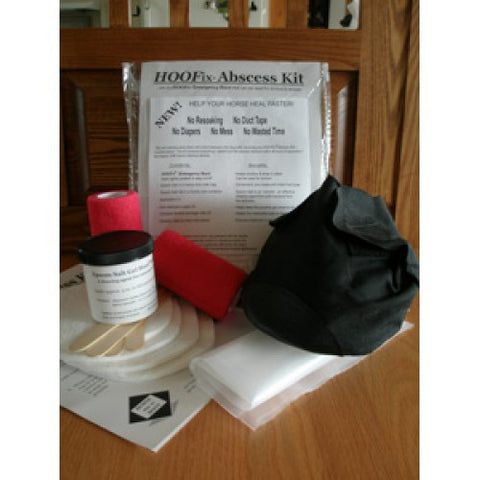 HOOFix® Abscess Kit with Reusable Boot