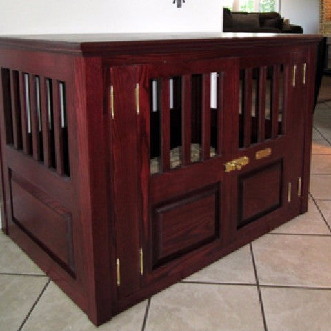 Custom Solid Wood Dog Crates