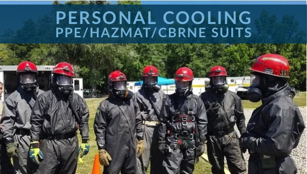 How to Stay Cool in PPE/HAZMAT/CBRNE Suits
