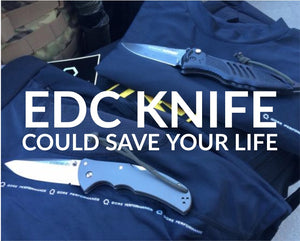 EDC Knife Could Save Your Life