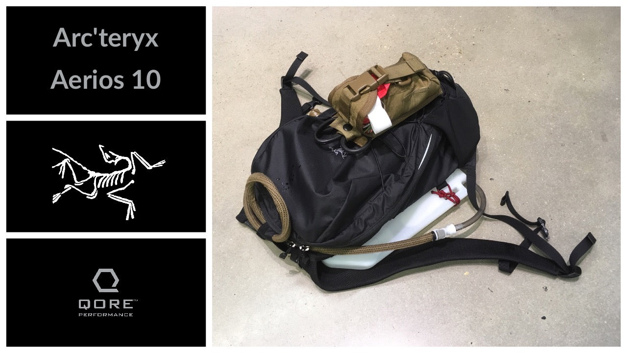 Review and Compatibility: Arc'teryx Aerios 10 Backpack