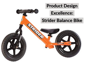 Product Design Excellence Series: Strider Balance Bike
