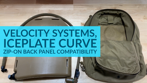Does IcePlate Curve fit in a Velocity Systems SCARAB Zip-On Back Panel?