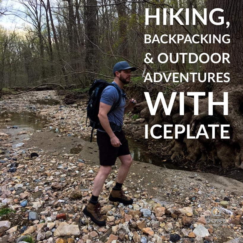Hiking, Backpacking & Outdoor Adventures with IcePlate