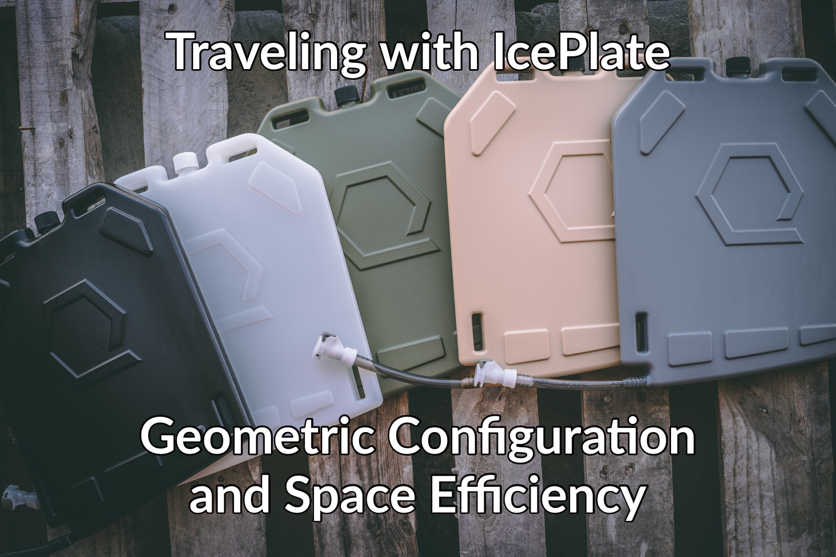 Traveling with IcePlate: Geometric Configuration and Space Efficiency