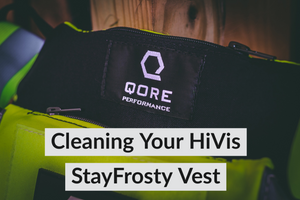 Keeping HiVis StayFrosty Vests Clean