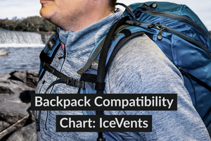 IceVents Universal Shoulder Pad Compatibility Guide: Backpacks