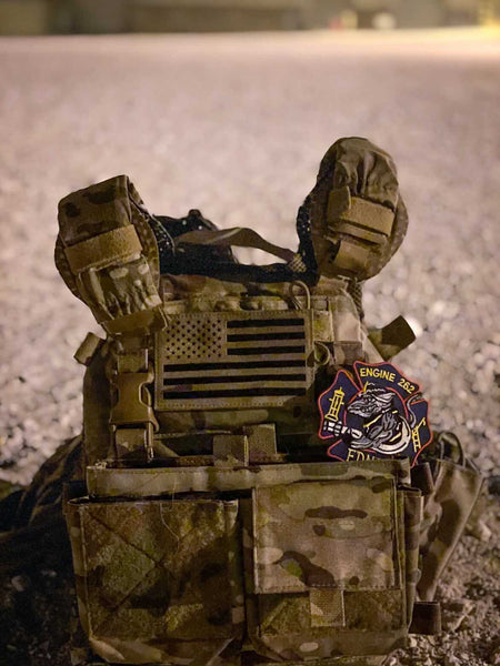 IceVents Aero Ventilated Plate Carrier Shoulder Pads deployed downrange with US Special Operations Forces